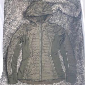 Authentic lululemon Down/Polar Tech Running Jacket